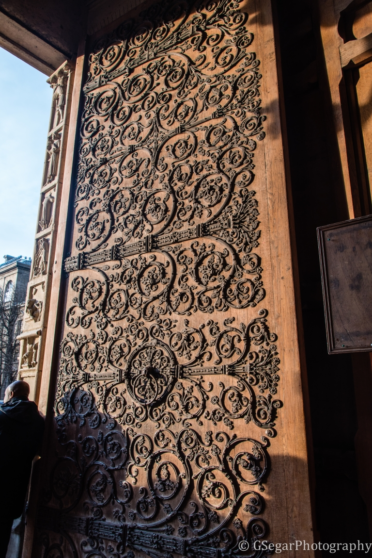 Resized Door of Notre Dame