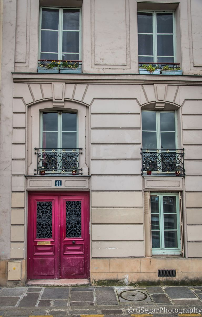 Resized Pink door