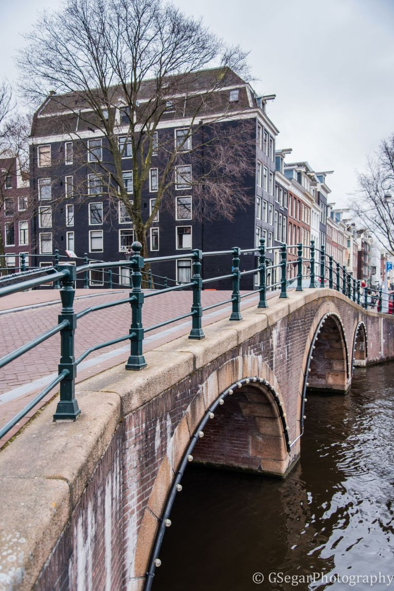 Amsterdam - canal bridge 2