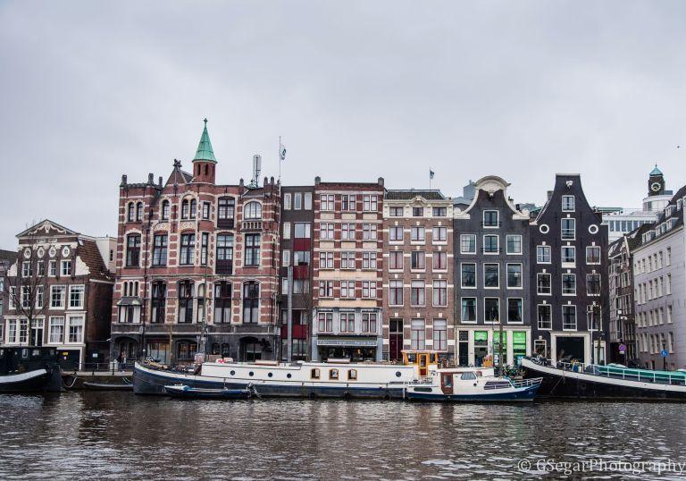 Amsterdam - facade canal