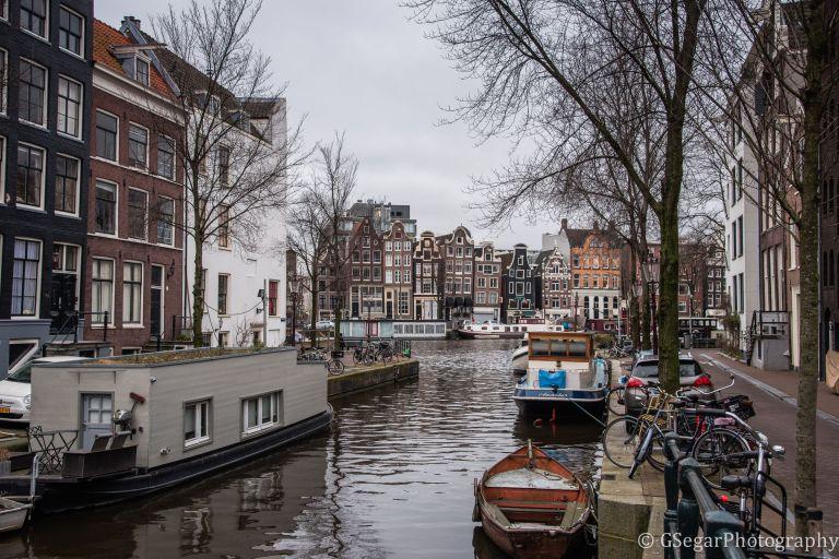 Amsterdam - houseboat + boat