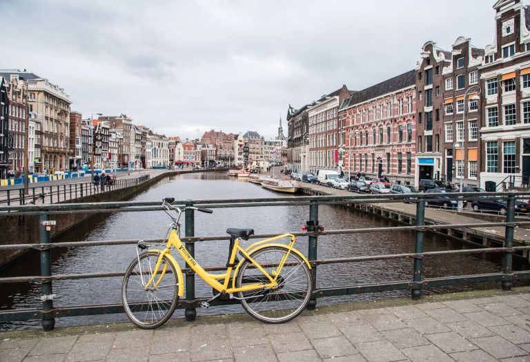 Amsterdam - Yellow Bike