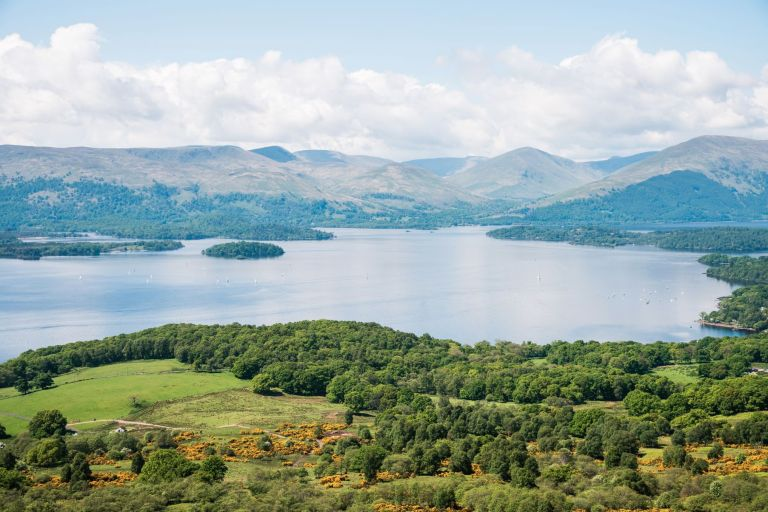 View of Loch Lomond from Conich Hill